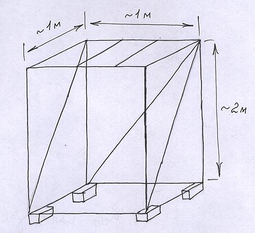 Душевая кабина для дачи своими руками чертежи