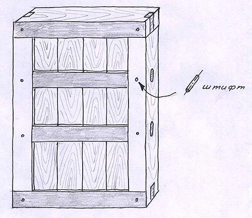 Установка входной деревянной двери своими руками в